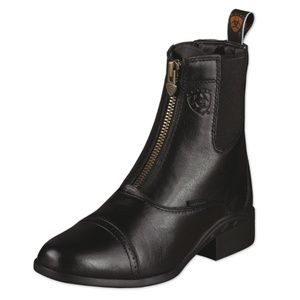Ariat - Heritage Paddock Boot In Black Size 7 1/2